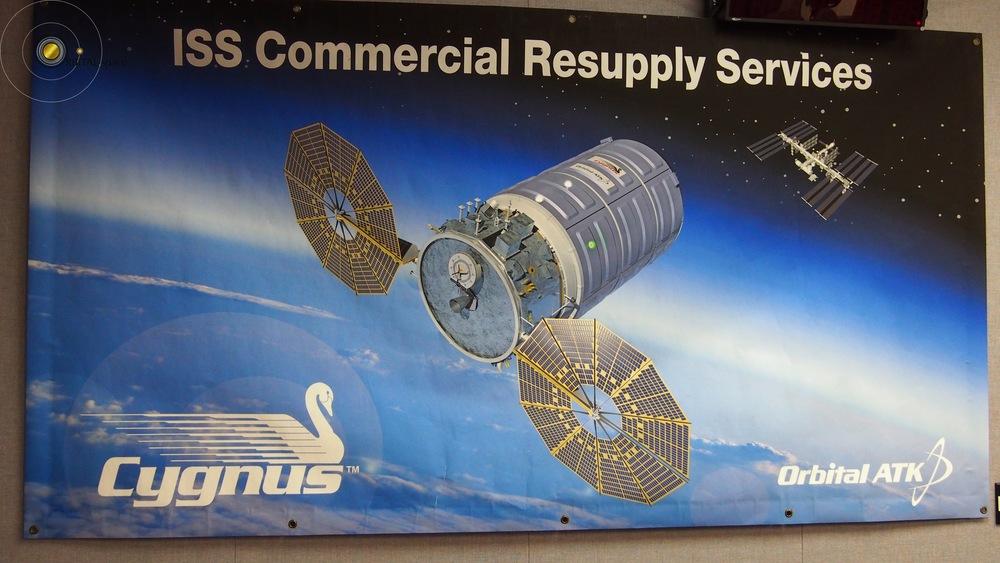 Cygnus ISS Banner