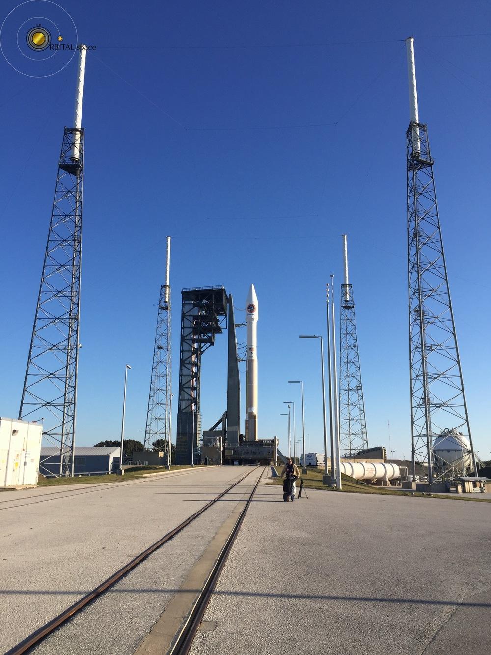 Atlas-V, Cygnus OA-6 at SLC-41