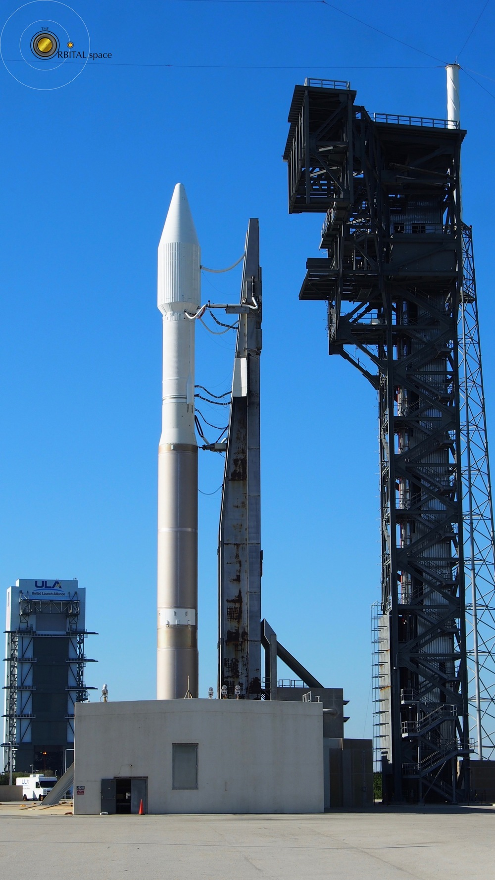 Atlas-V and new Crew Tower