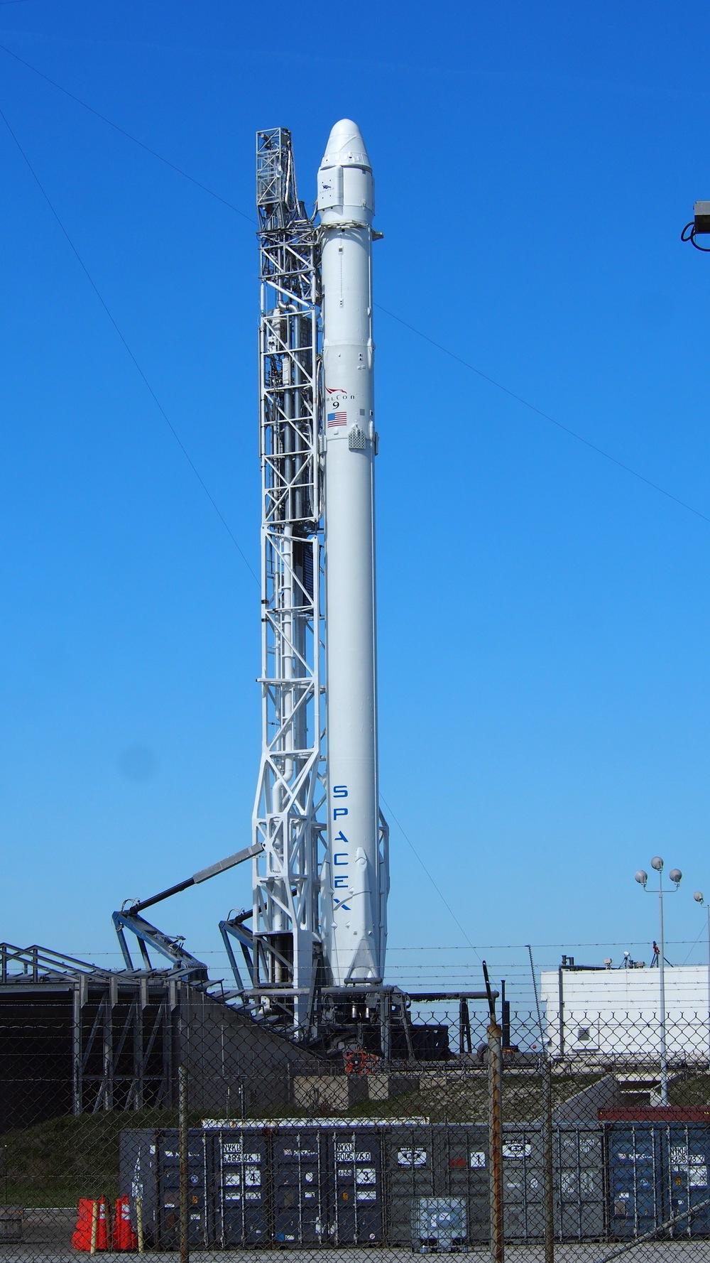 Falcon 9 at SLC-40