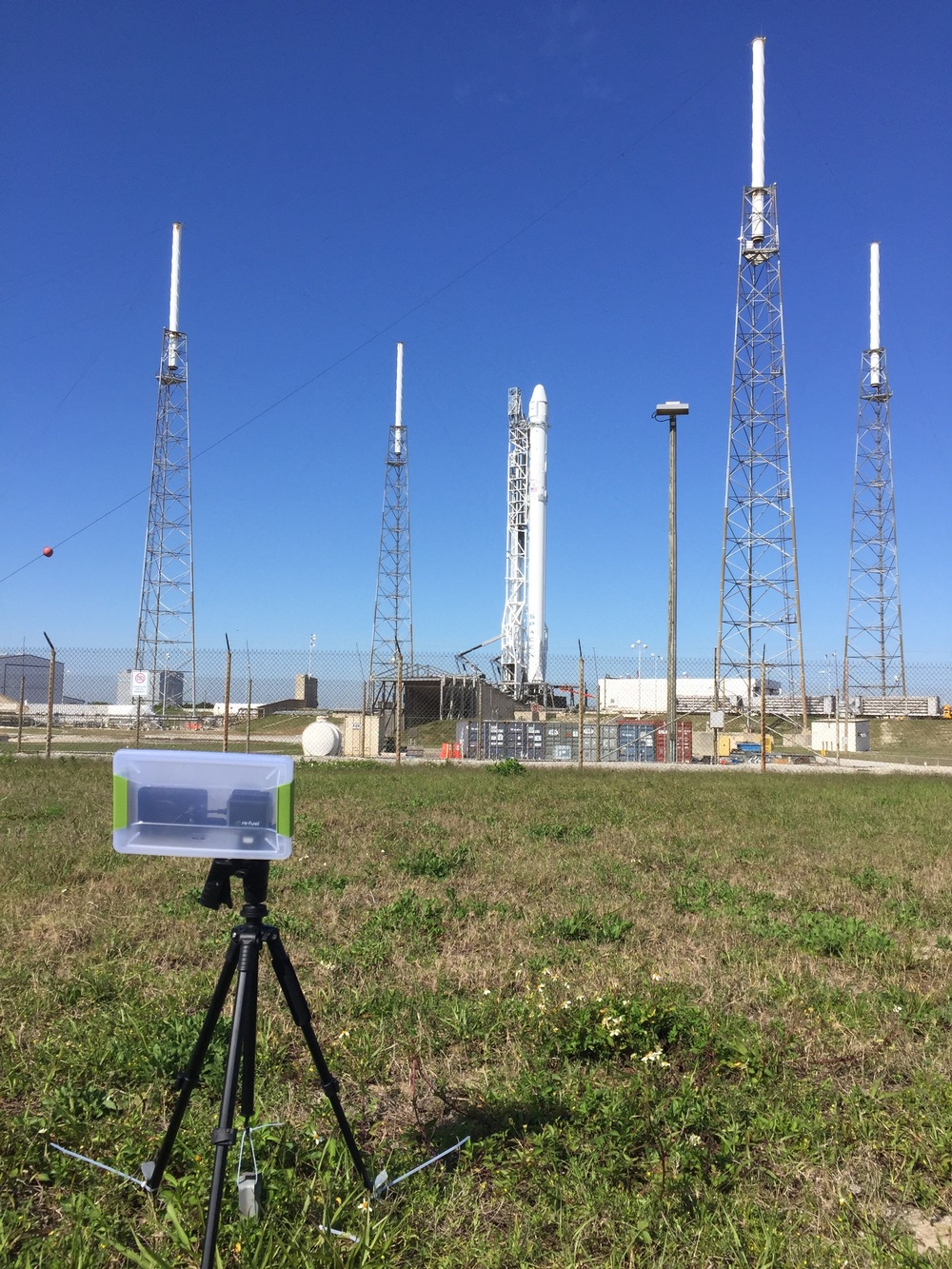 Remote Camera Setup at SLC-40