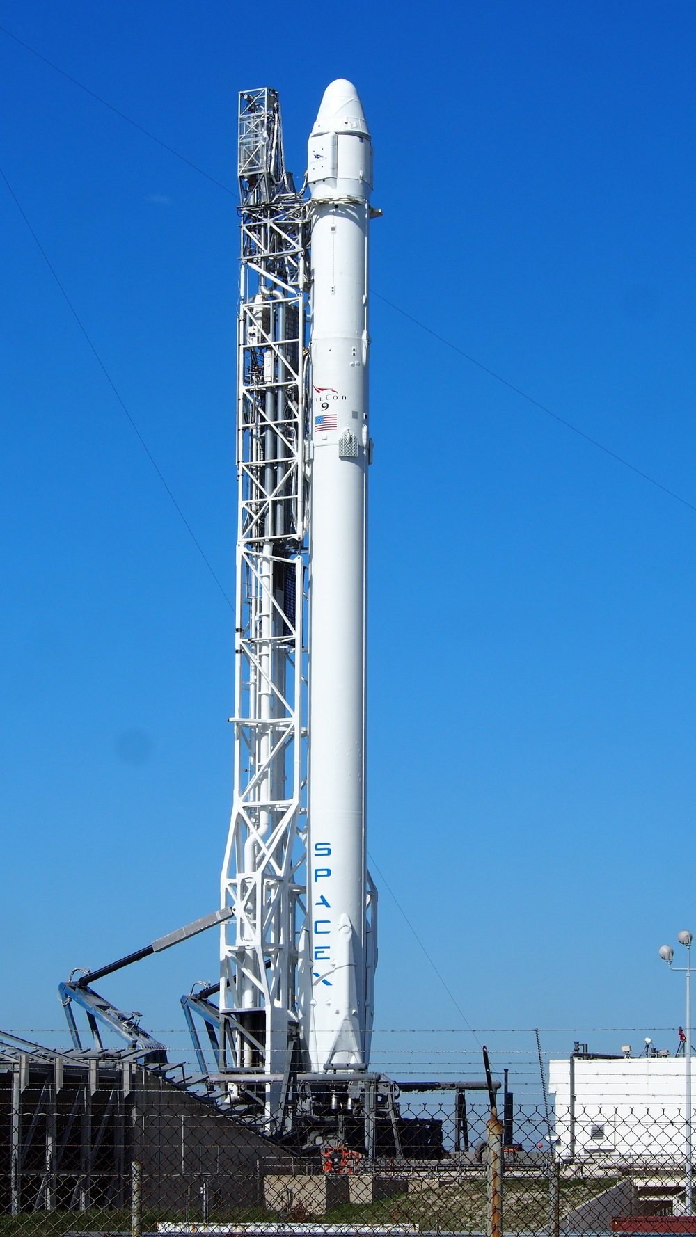 SpaceX's Falcon 9 at SLC-40