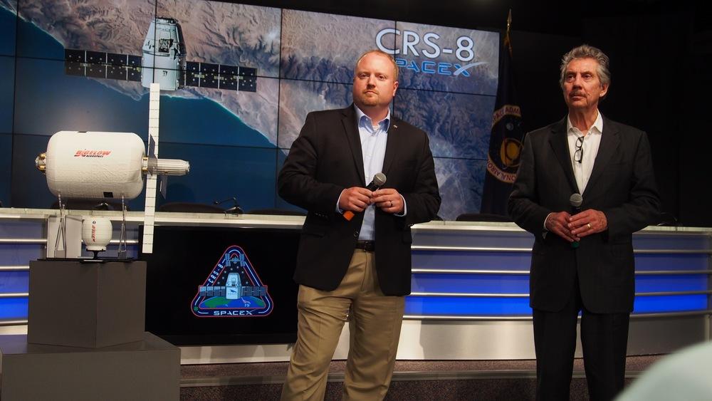 NASA and Bigelow present BEAM