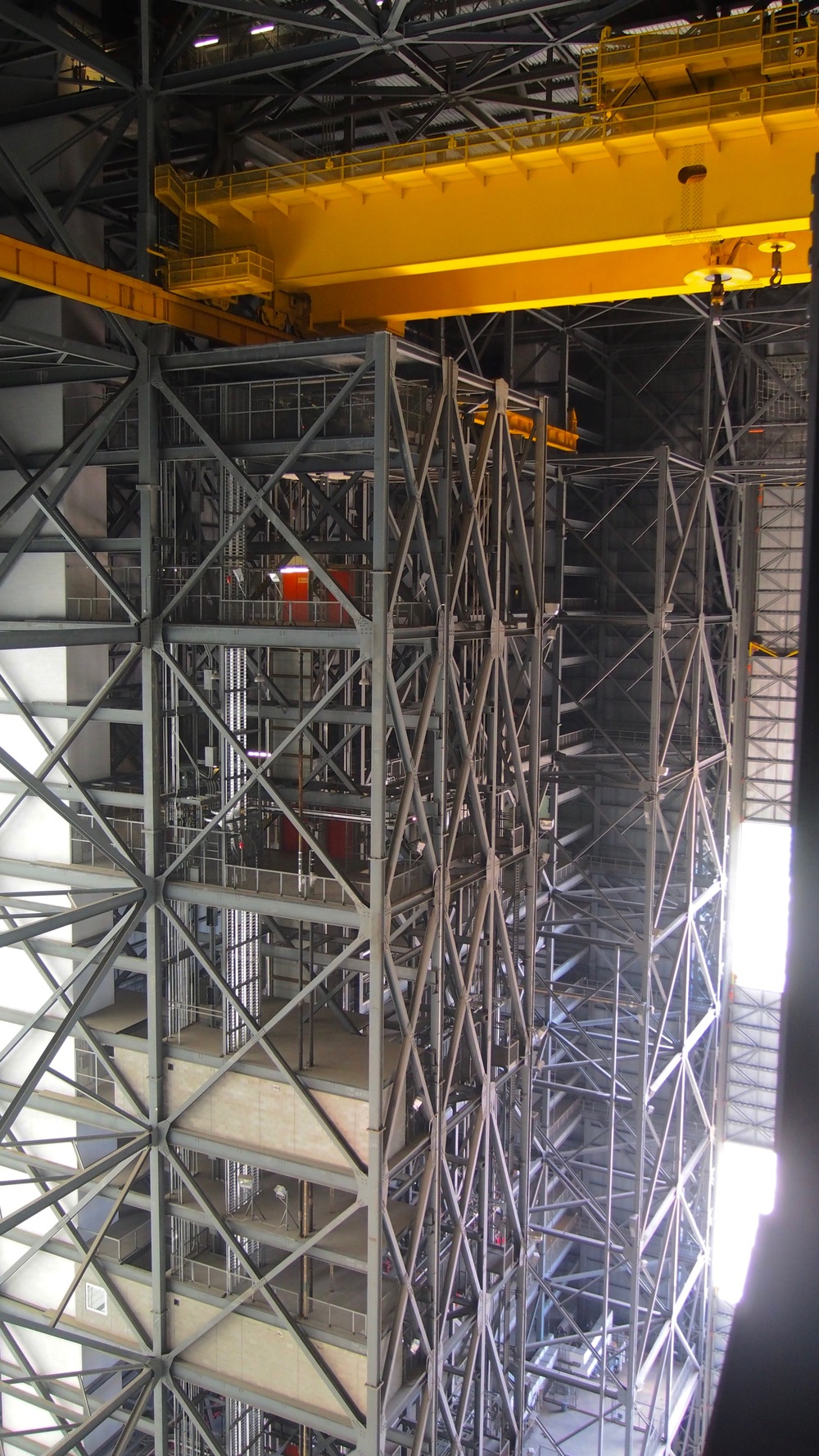View from the top of the VAB