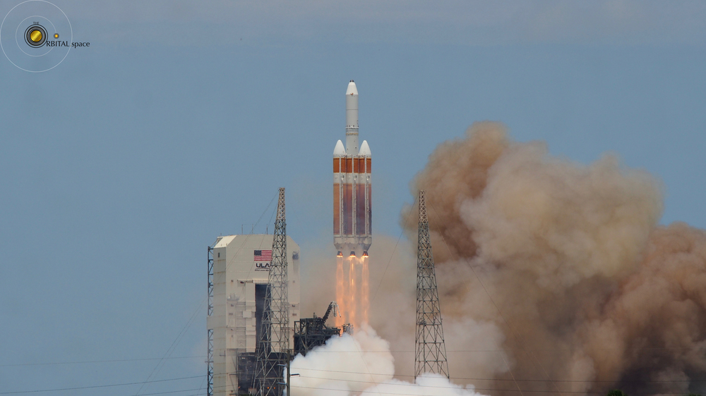 Liftoff of the NROL-37 on the Delta IV Heavy