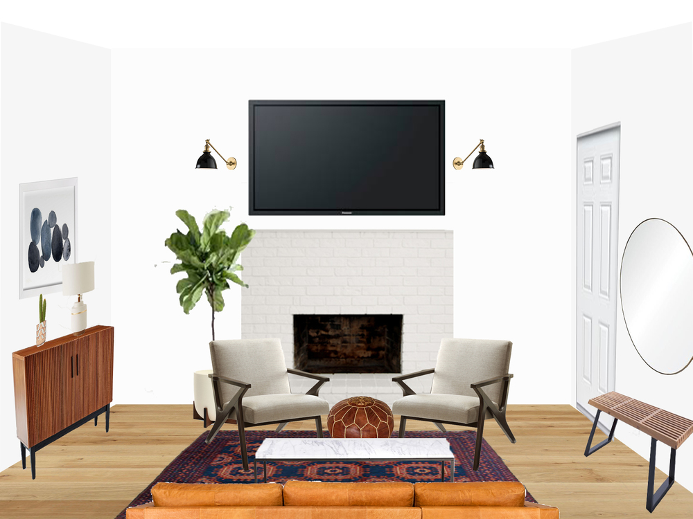 Beautiful Image Via Sun Soul Style With Cozy Modern Living Room