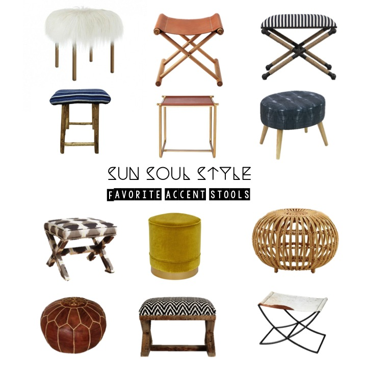 Sun Soul Style's Favorite Accent Stools