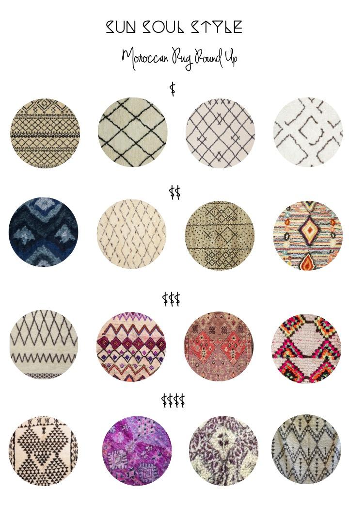 Sun Soul Style Moroccan Rug Roundup