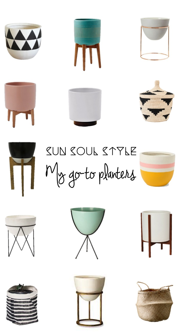 Sun Soul Style Go-To Planters