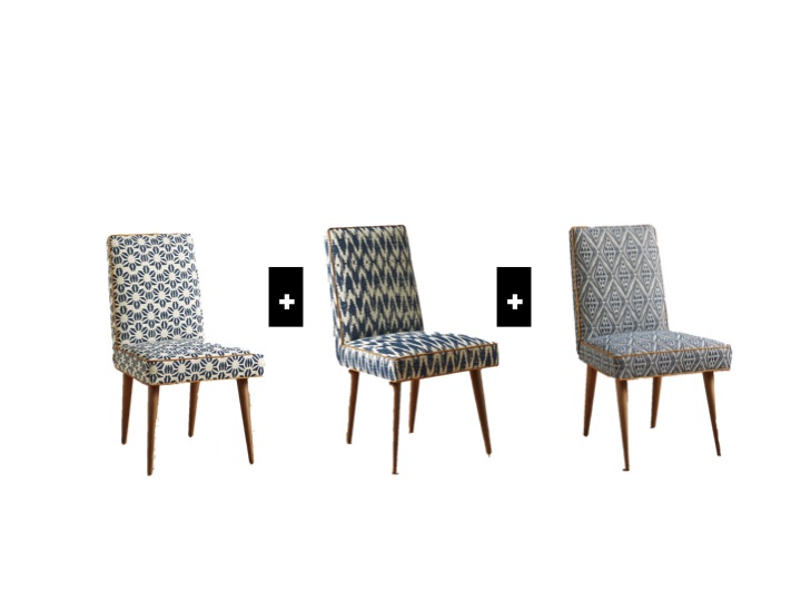 Zolna Chair via Anthropologie - How To Master Mismatched Dining Chairs Like A Pro — Sun Soul Style