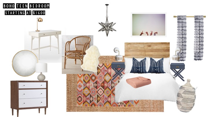 Boho Teen Bedroom Via Sun Soul Style