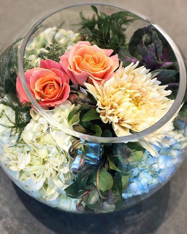 🧡thankful🧡 #swishbowl #swishflowers #thankful