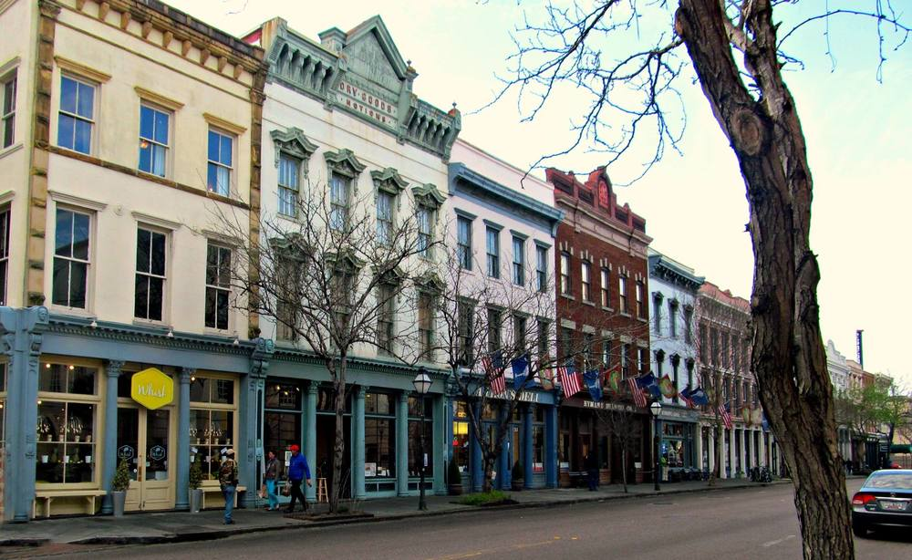Broad Street in Charleston, SC. One of my favorite places!