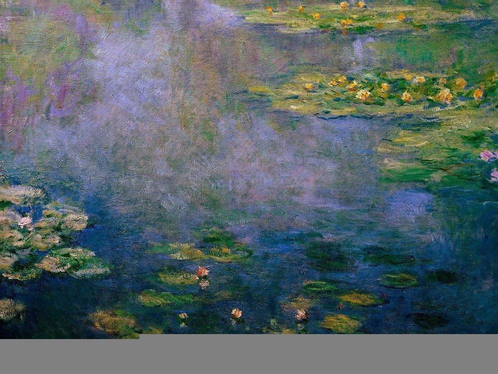 WATER LILIES II, 1906-1907