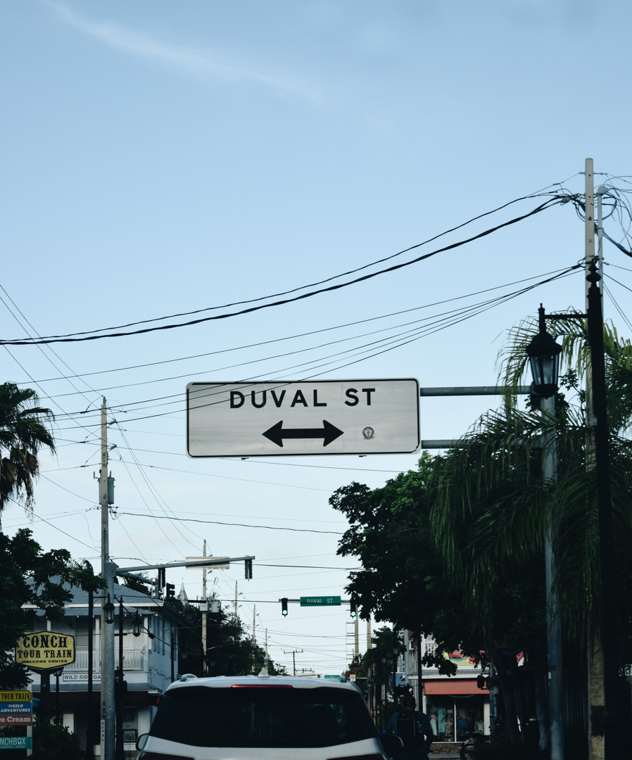 Duval Street!! So many shops and bars and restaurants! We had fun exploring it.