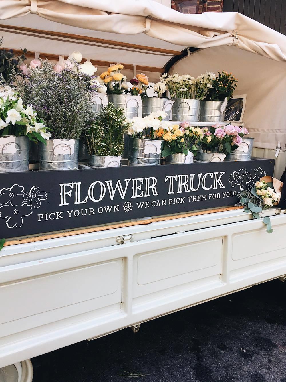 Amelia's Flower Truck!