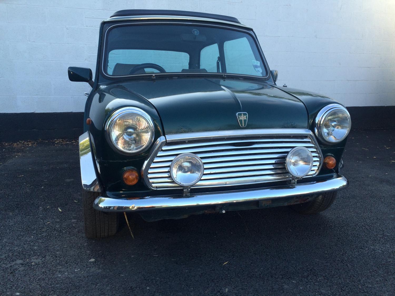 Rover Mini British Open Classic — Restoration Project Cars