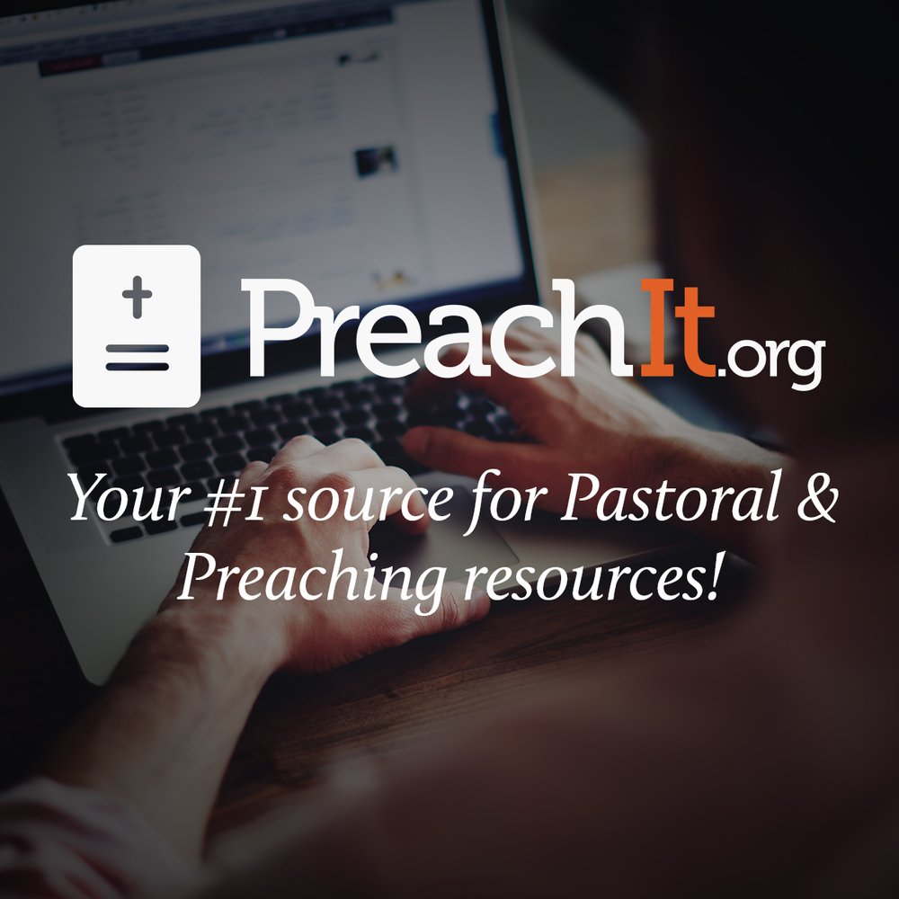 Your #1 Resource for pastoral & preaching resources