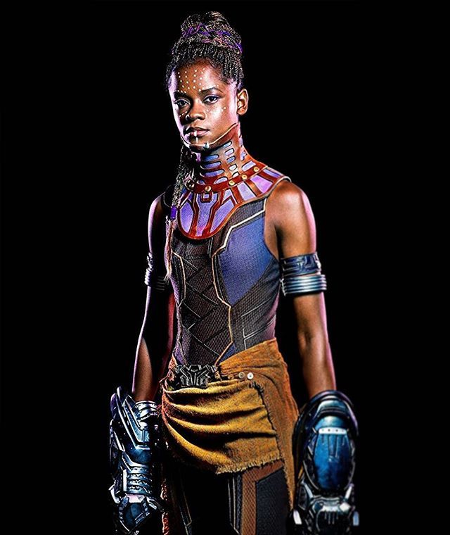 Strong. Fierce. Inspirational. Beautiful. Female. #internationalwomensday A great example from the @blackpanther world of #Wakanda in #PrincessShuri