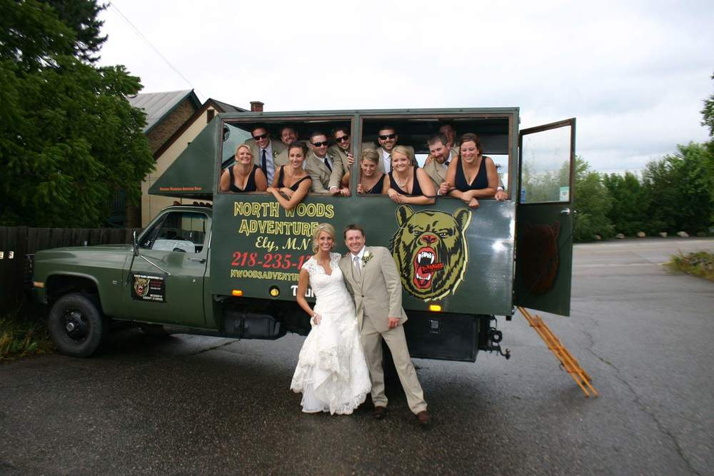 Weddings are a favorite shuttle service for Ely public transit with attention to details. with no worries  on your part.