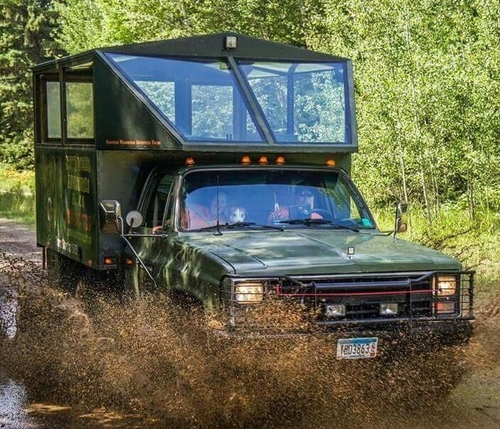 The Big Green Bear Truck