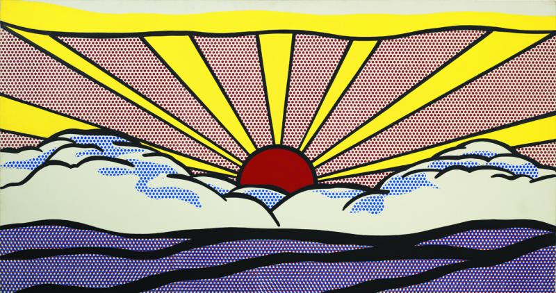 Roy Lichtenstein,  Sunrise,  1965