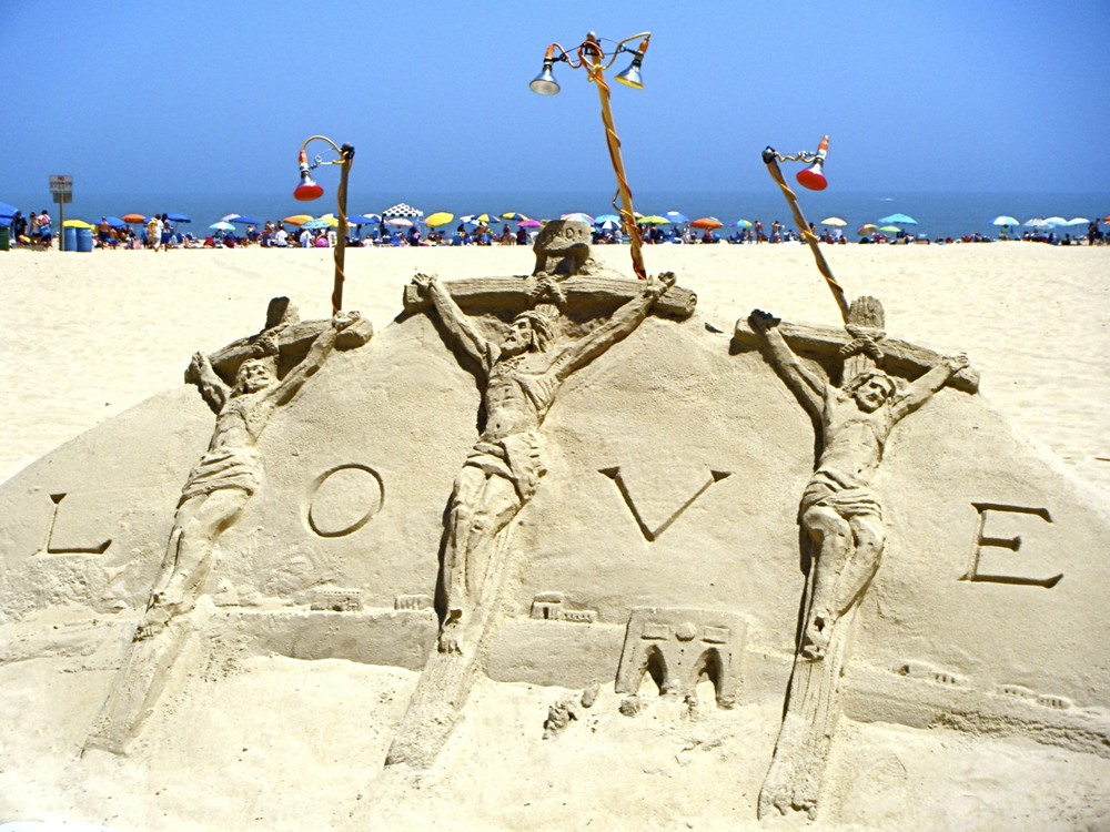 Three crosses with love