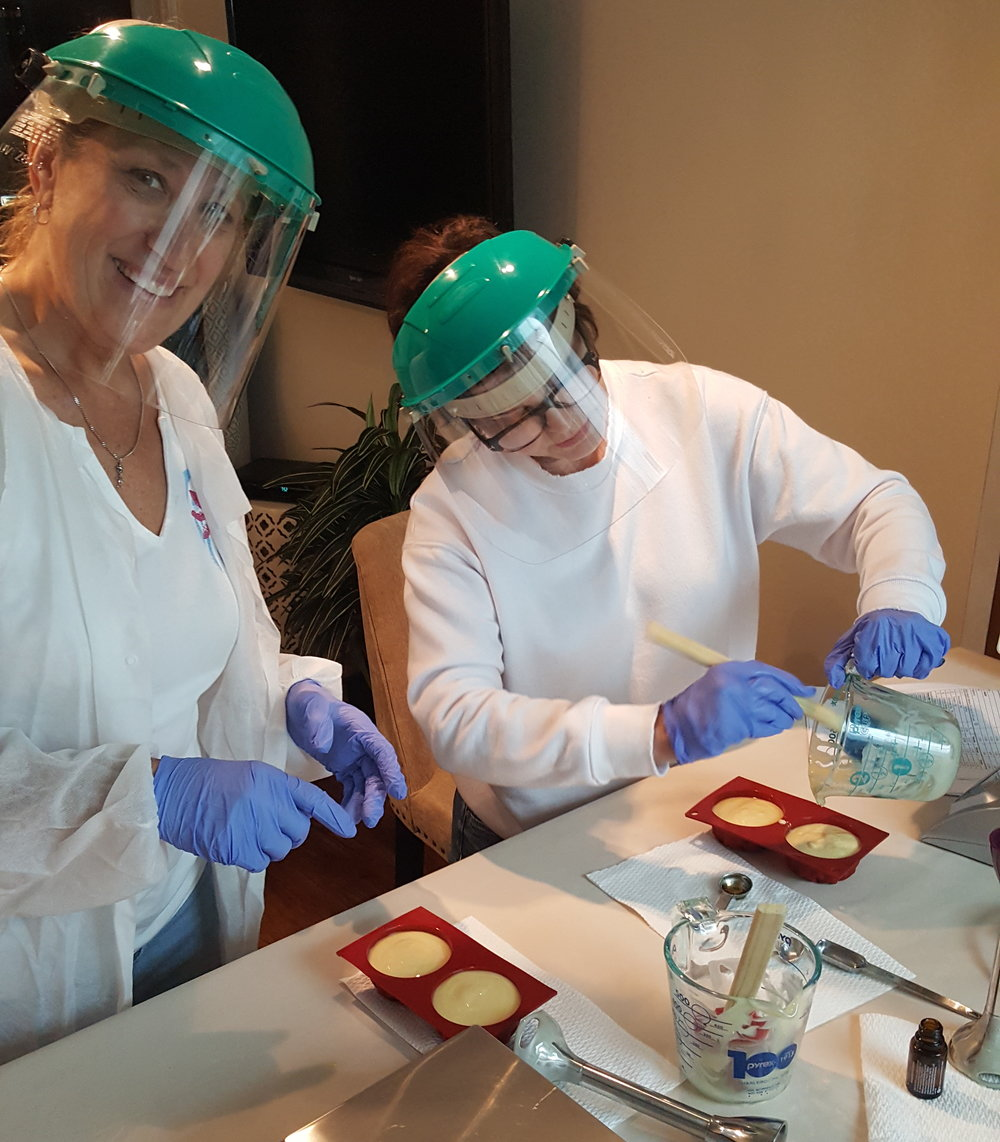 Class with Carol & Lois - Soap in mold.jpg