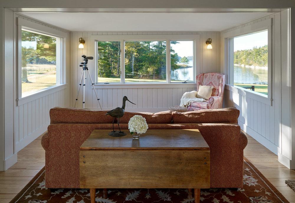 NEW MEADOWS RETREAT  Family/sun room