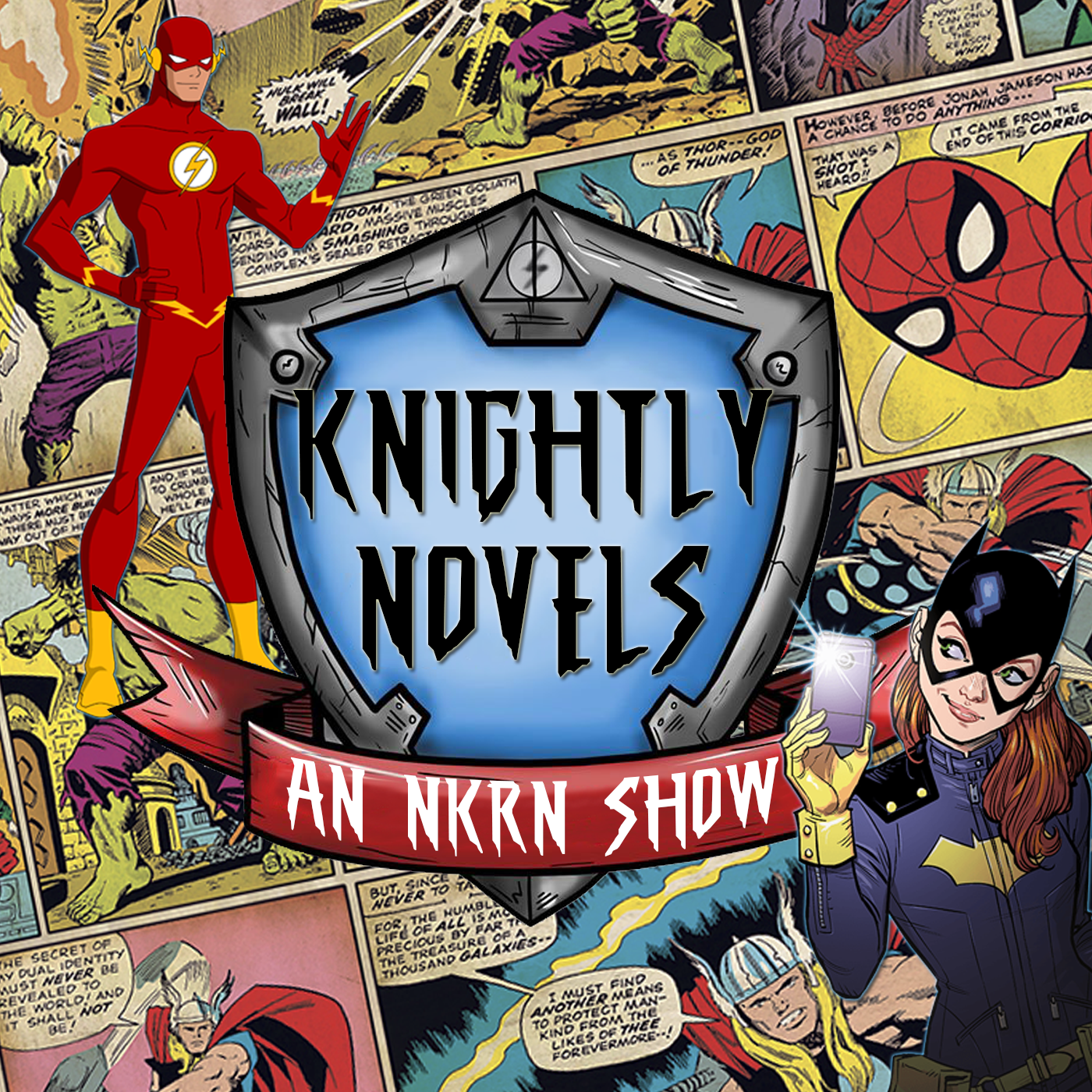 Knightly Novels - Nerdy Knights