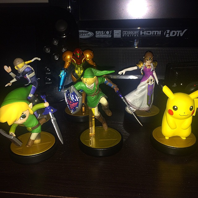 2 more #Zelda Characters added to the collection. #Nintendo #Amiibo