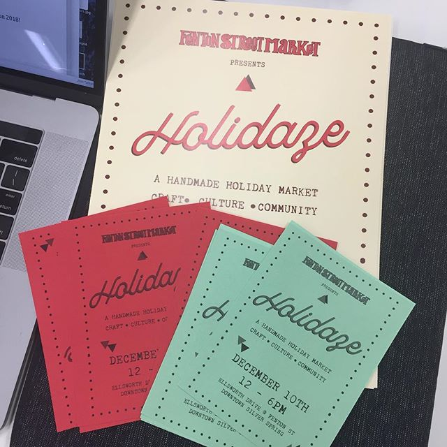 HOLIDAZE is right around the corner! #FentonFinds #DTSilverSpring