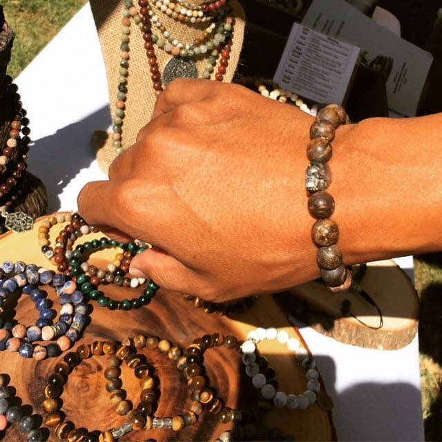 Get to know our HOLIDAZE Vendors: @bbirdwatcher Spiritual Stones⠀ ⠀ The B.Birdwatcher jewelry line encompasses the principles of balance & harmony, protection & strength, relationships & self-improvement with a eco-chic fashion sense. The mixture of amethyst, jade, moonstone, and tiger's eye intermingles with Tibetan amulets and diamond encrusted om charms. You haven't seen quality gemstone bracelets like B.Birdwatcher Spiritual Stones.⠀ -•- #bbirdwatcher #spiritualstones #getstoned #FentonFinds #DTSilverSpring #acreativedc #202creates