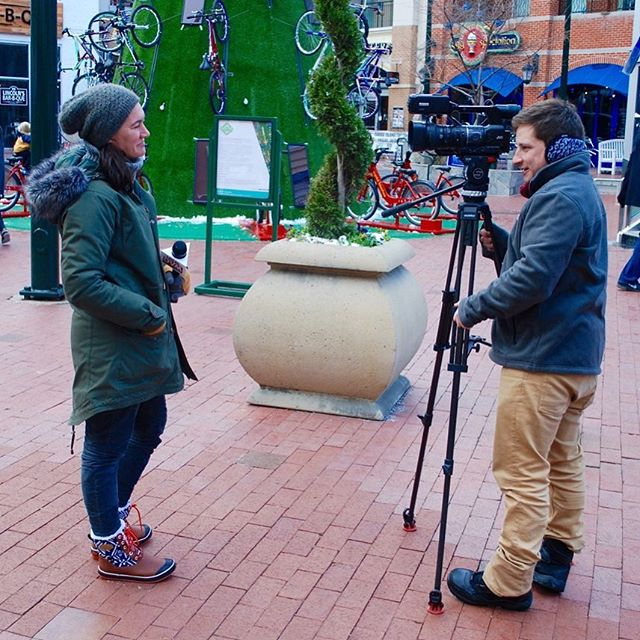 THANK YOU FOR A GREAT HOLIDAY MARKET! Our very own Elizabeth Baer was interviewed for I-270 News on Sunday at #HOLIDAZE. Our friends @sourceofthespring dropped a little story on their site too!