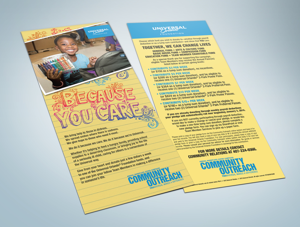 Campaign Rack Card