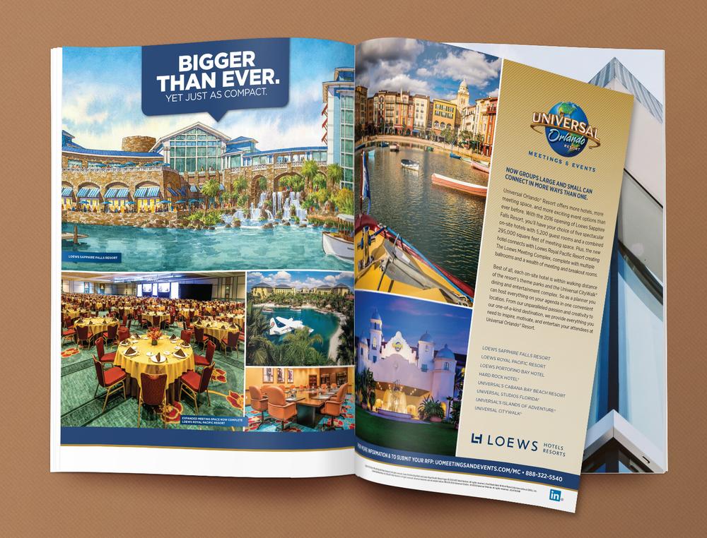 M&E Magazine Spread (Resorts)