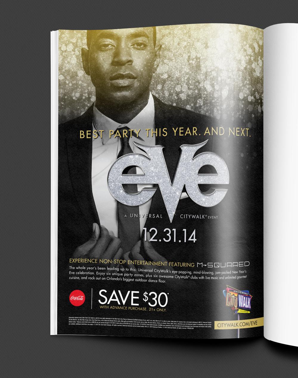 NYE Axis Magazine Ad