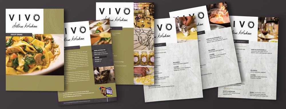 Vivo Group Dining Menu