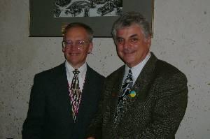 Our host, Dr. Jim Piepon, and our trip coordinator, Dr. Robert Lerer.