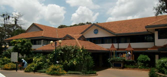 We stayed at the Muthaiga Club near the embassy area in Nairobi which was the British club featured in the movie   Out Of Africa.    Those accommodations were cozy and charming and we usually had our breakfast and evening meals in a terrace overlooking a small garden.