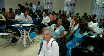 The audience included teachers, parents, clinicians, physicians, and therapists who work in a variety of settings across Kenya and neighboring Tanzania.