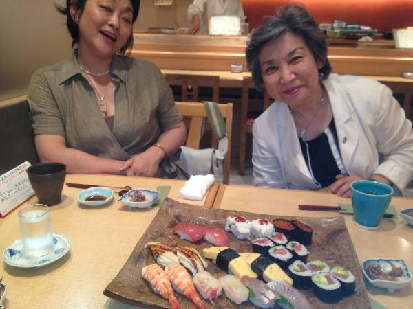 We were hosted by Dr. Nagao and Dr. Mei Ishi.