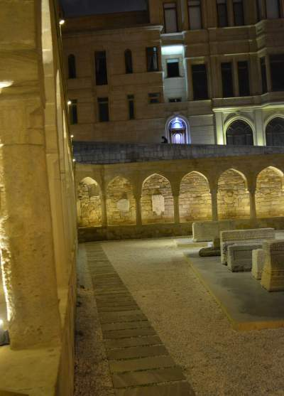 Ruins of one of the oldest Christian churches in the world.