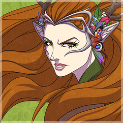 Portrait of Keyleth by the awesome  Kit Buss