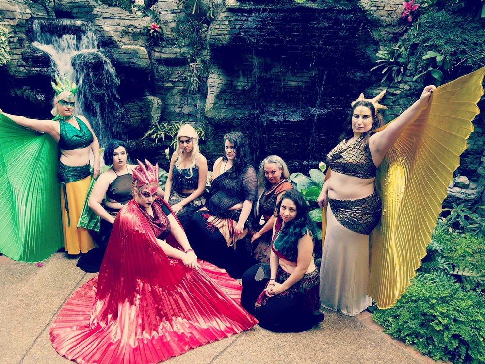 The League of Extraordinary Bellydancers - BellyDance With A Geeky Twist