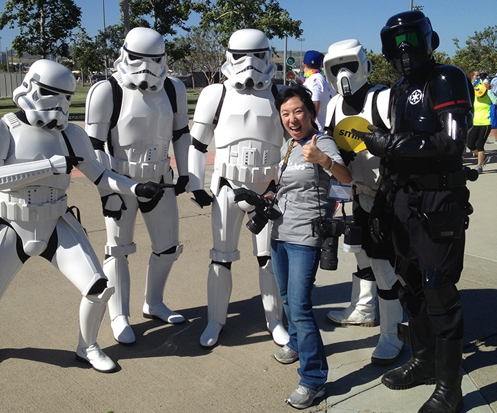 Even the other side of the Force is with us today LOL! Tis the power of Wishes :D!