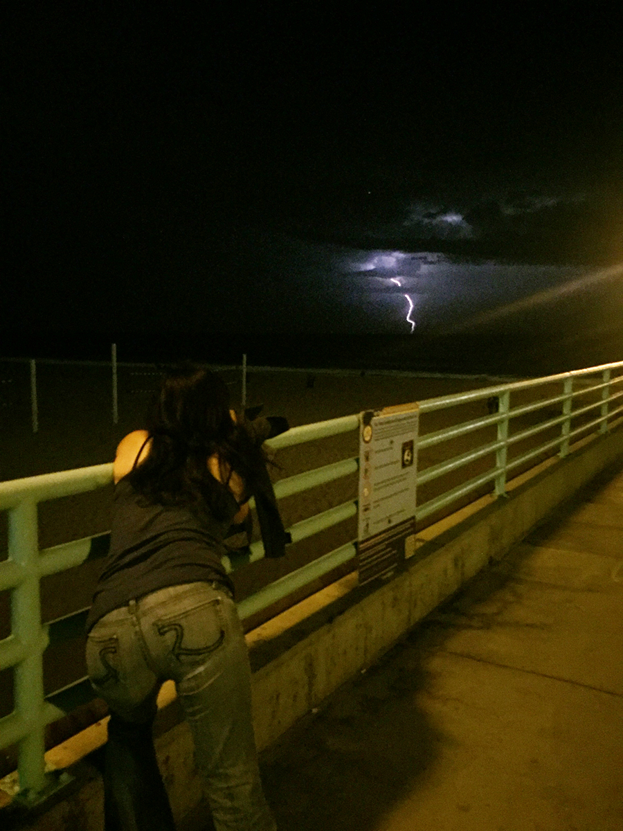 Manhattan Beach Pier is a great tripod XD