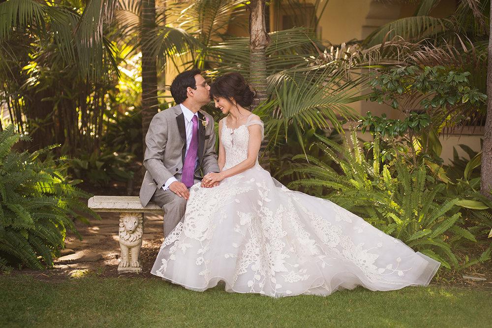 Erin Shimazu Photography Wedding Bride Garden Alice1