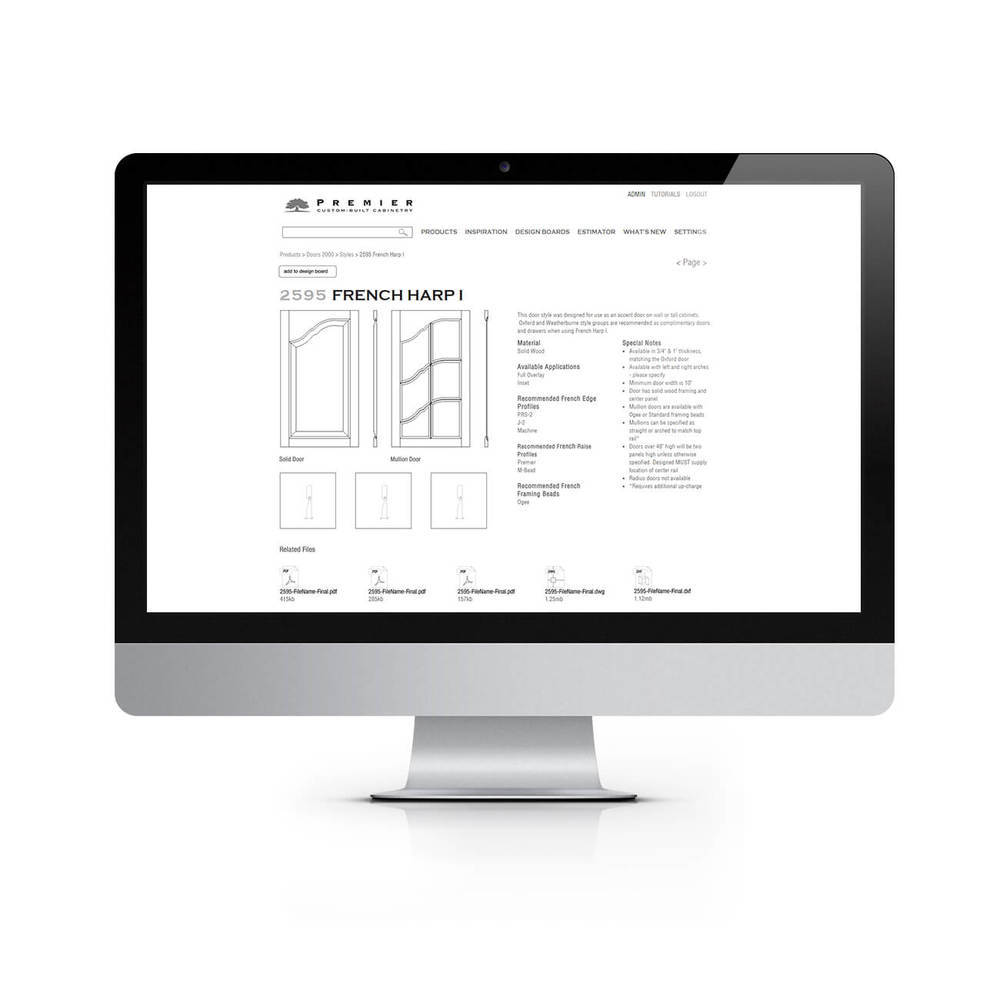 Website Interior