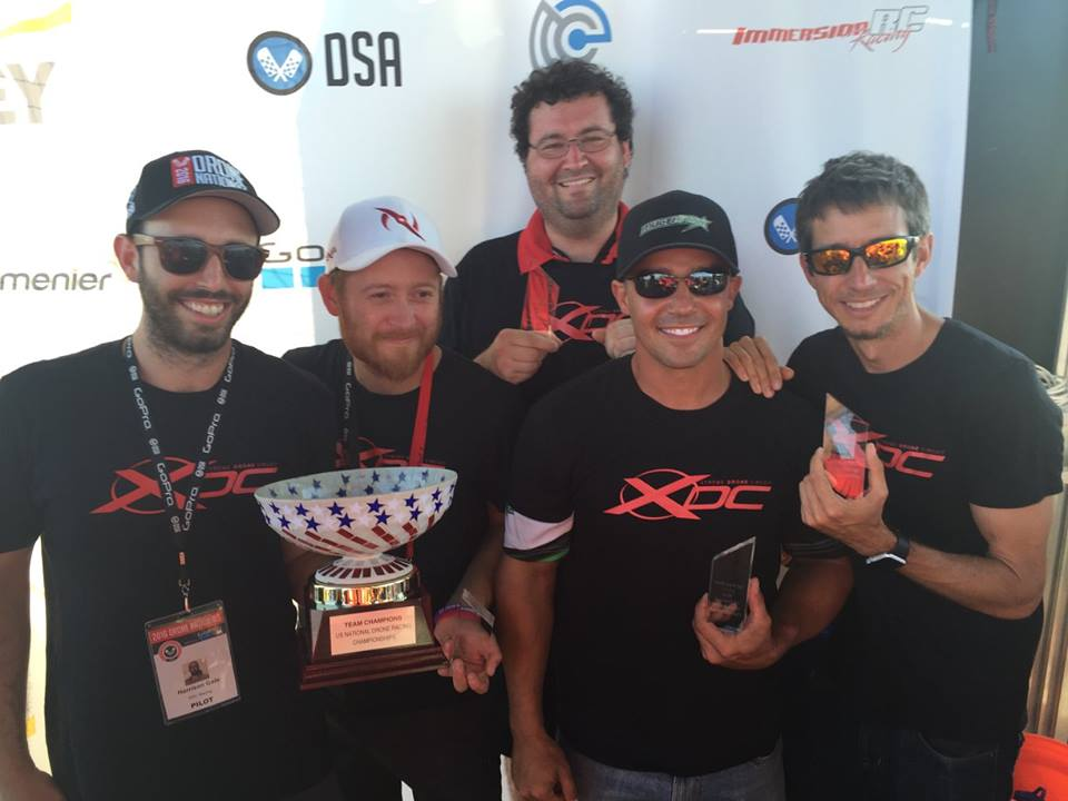 1st Place-Drone Nationals Team Race
